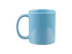 11oz Full Color Mug(Glossy, Light Blue)
