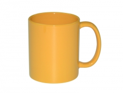 11oz Full Color Mug(Glossy, Yellow)