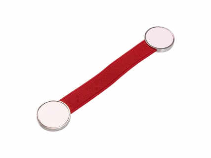 Sublimation Elastic Band Strap Phone Holder (Red)