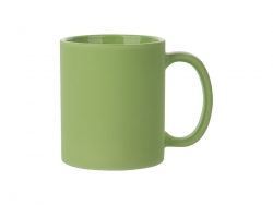 11oz Full Color Mug (Frosted, Light Green)
