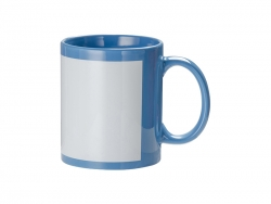 11oz Full Colour Mug w/o White Patch(Light Blue)