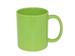 11oz Full Color Mug(Glossy, Light Green)