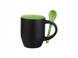11oz Changing Color Spoon Mug (Matt Light Green)