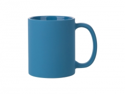 11oz Full Color Mug (Frosted, Light Blue)