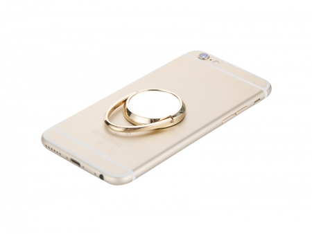 Sublimation Rotating Mobile Phone Ring Holder(Gold)