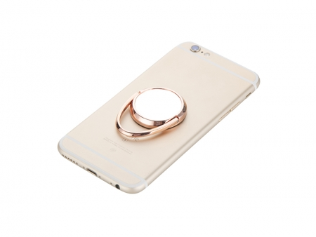 Sublimation Rotating Mobile Phone Ring Holder(Rose Gold)