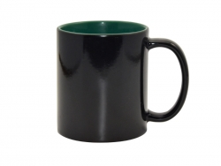 11oz Black Magic Mug (Inner Green)