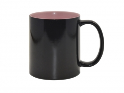 11oz Black Magic Mug (Inner Pink)